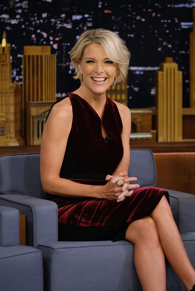 Megyn Kelly Visits 'The Tonight Show Starring Jimmy Fallon' at Rockefeller Center on November 18, 2016 in New York City. (Photo by Theo Wargo/Getty Images)