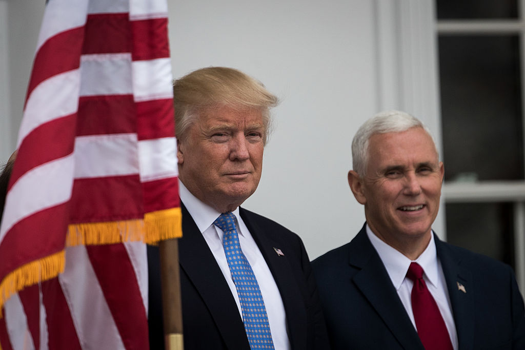 Donald Trump and Mike Pence (Getty Images)
