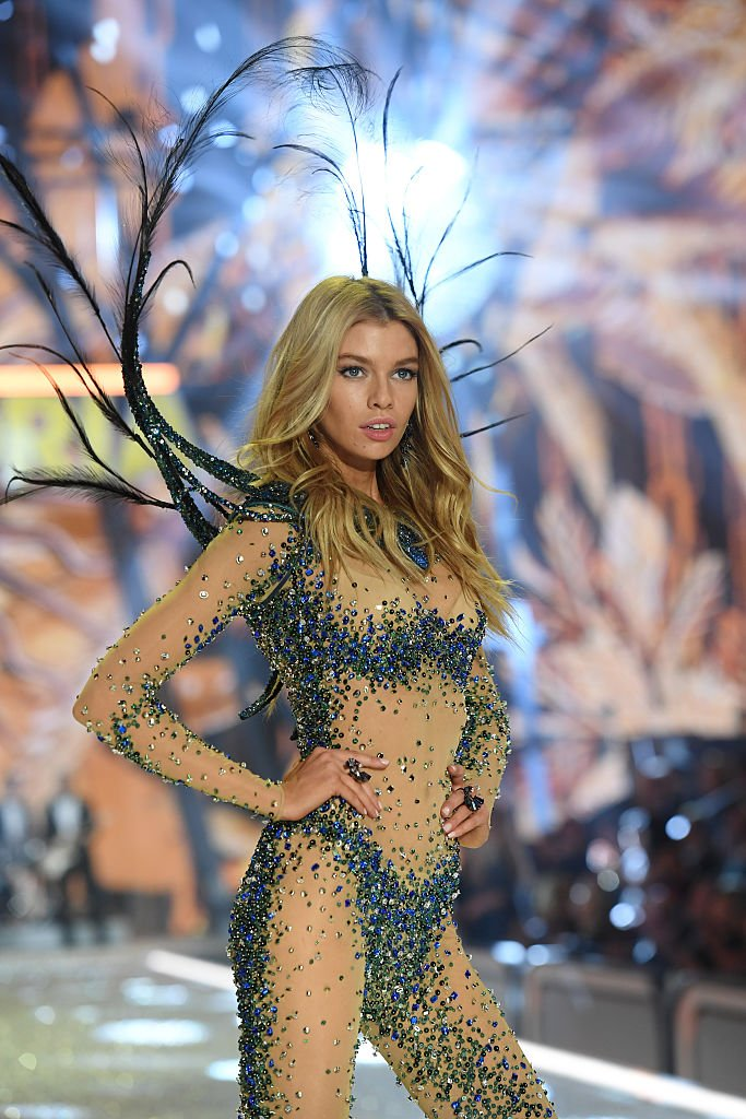 Stella Maxwell walks the runway during the 2016 Victoria's Secret Fashion Show on November 30, 2016 in Paris, France. (Photo by Dimitrios Kambouris/Getty Images for Victoria's Secret)
