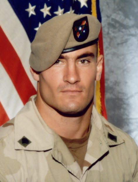 """The U.S. Army has opened a new investigation into the circumstances of the April death in Afghanistan of Cpl. Pat Tillman, a former professional football player killed in a """"probable"""" friendly fire incident, officials said on December 6, 2004. The investigation was ordered on November 3 by then-acting Army Secretary Les Brownlee and was prompted by questions raised by Tillman's family about his death in a remote canyon in southeastern Afghanistan, Army officials said. One official said the investigation could trigger criminal charges if any U.S. personnel are deemed culpable in his death. Tillman is pictured in this June 2003 file photograph. FOR EDITORIAL USE ONLY REUTERS/Photography Plus C/O Stealth Media Solutions/Handout SV - RTRZSKL"""