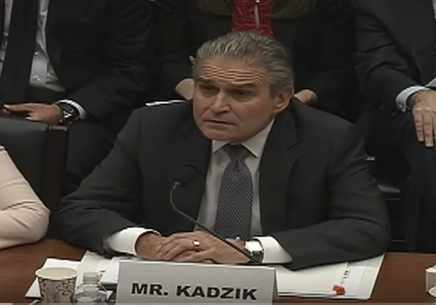 Assistant Attorney General Peter Kadzik testifies at a House Oversight and Government Reform Committee hearing, Jan. 7, 2015. (Youtube screen grab)