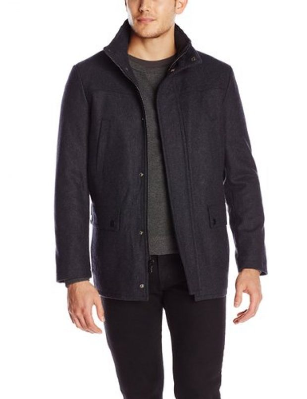 Normally $250, this Kenneth Cole coat is 68 percent off for Black Friday (Photo via Amazon)