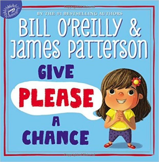 O'Reilly and Patterson's illustrated picture book emphasizes the importance of the word 'please' (Photo via Amazon)
