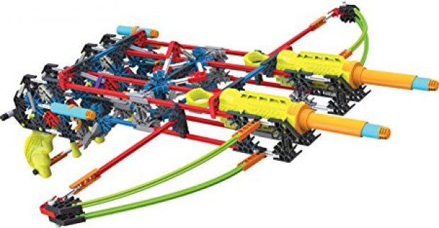 This set includes 368 K'Nex pieces that can build 6 different blaster and target models. It is 59 percent off today (Photo via Amazon)