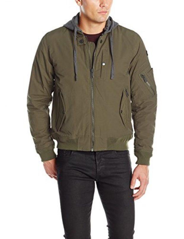 This bomber jacket is 65 percent off (Photo via Amazon)