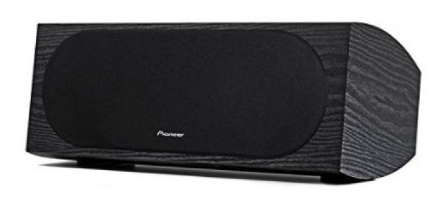 Normally $100, this center channel speaker is 30 percent off for Cyber Monday (Photo via Amazon)