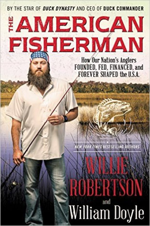 'The American Fisherman' is subtitled 'How Our Nation's Anglers Founded, Fed, Financed, and Forever Shaped the U.S.A.' (Photo via Amazon)