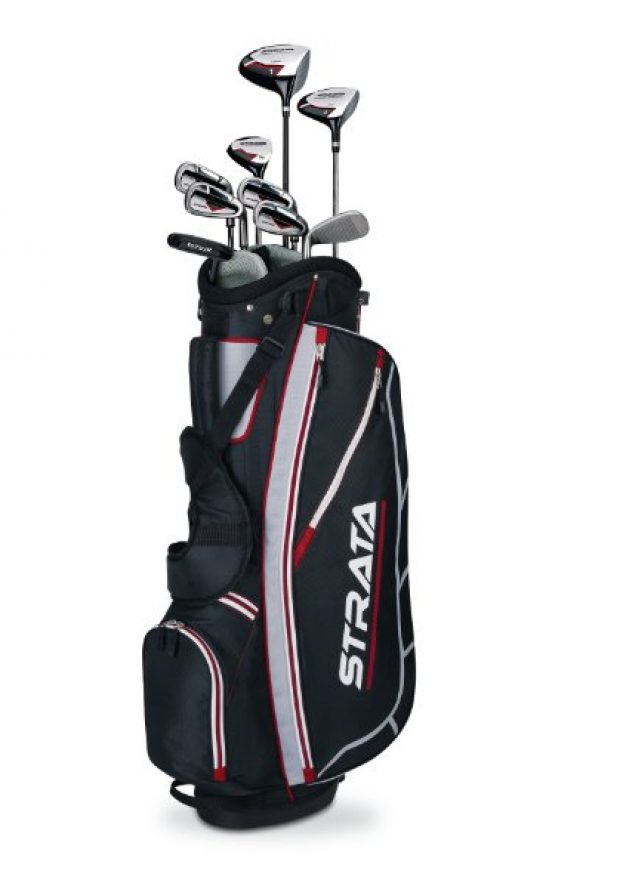 Normally $275, this 12-piece club set is 50 percent off for Cyber Monday (Photo via Amazon)