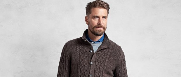 This guy is wearing one of the new Brooks Brothers sweaters (Photo via Brooks Brothers)
