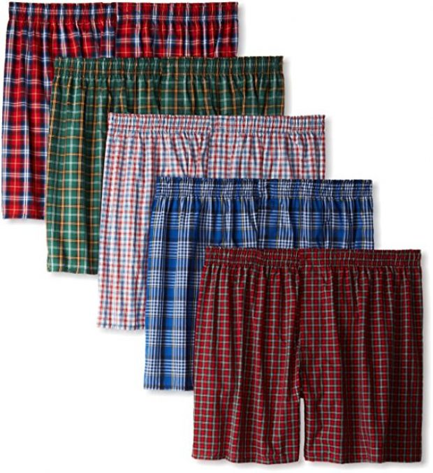 Normally $38, this 5-pack of boxers is actually 65 percent off (Photo via Amazon)