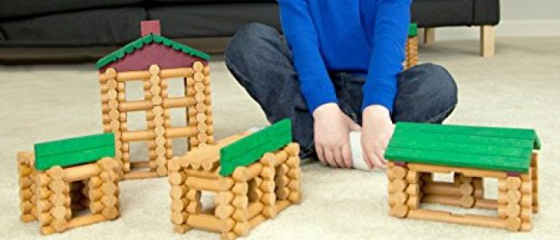 Lincoln Logs and K'Nex are on sale today (Photo via Amazon)