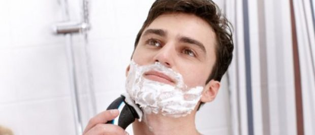 I have this shaver, but this is not a picture of me (Photo via Amazon)
