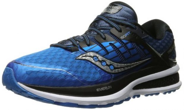 Normally $150, these Saucony running shoes are 66 percent off (Photo via Amazon)