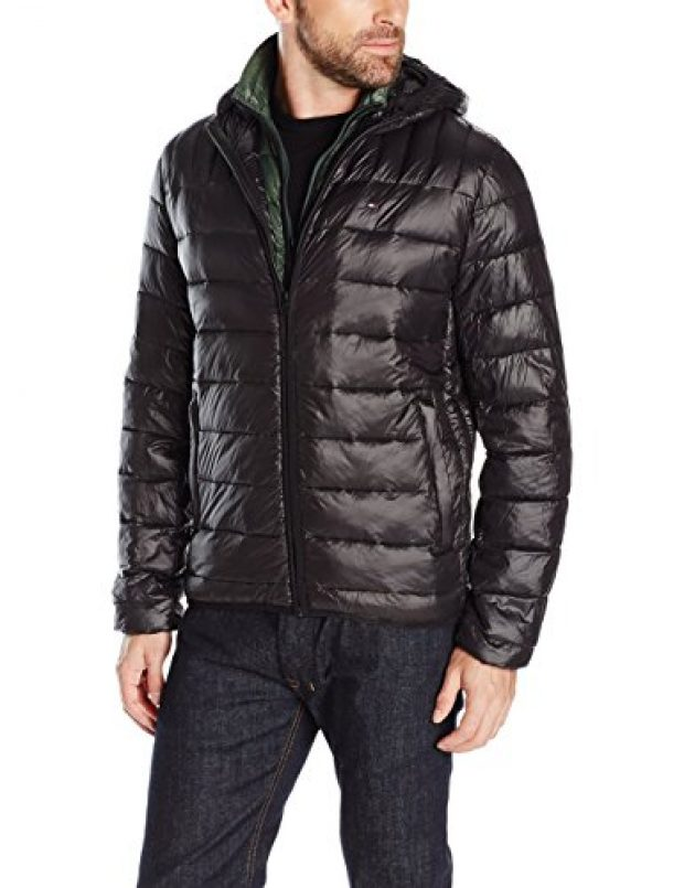 Normally $195, this Tommy Hilfiger jacket is 60 percent off (Photo via Amazon)
