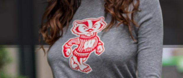 This girl got her shirt from FansEdge (Photo via FansEdge)