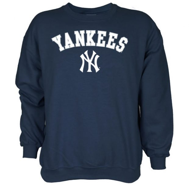 This sweatshirt normally costs $40 but is on sale today for $20. Obviously, the Yankees aren't the only team available (Photo via Fanatics)