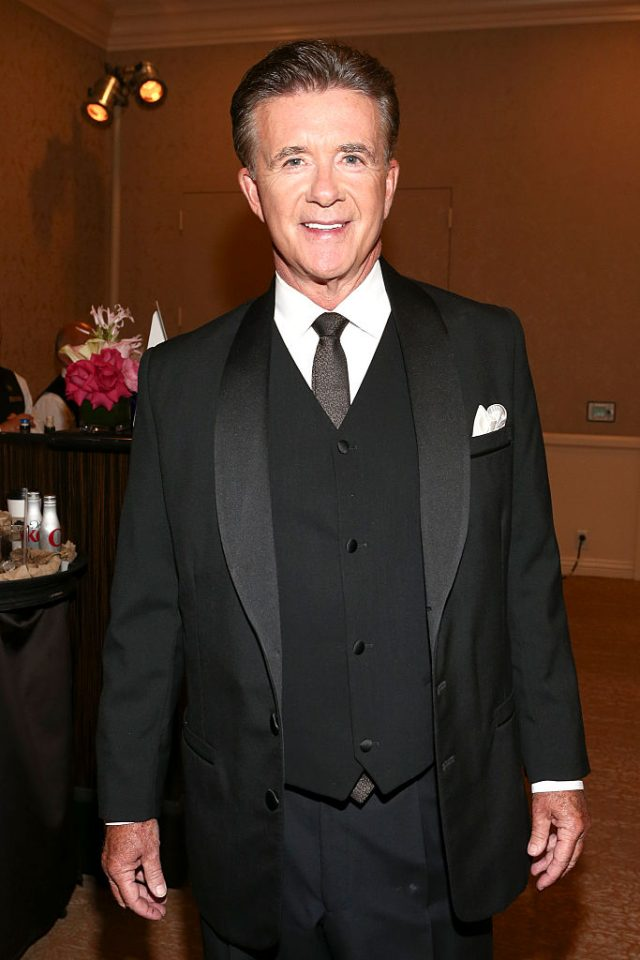 Actor Alan Thicke attends The Patron Tequila Room At Carousel Of Hope held at The Beverly Hilton Hotel on October 11, 2014 in Beverly Hills, California. (Photo by Rich Polk/Getty Images for Patron)