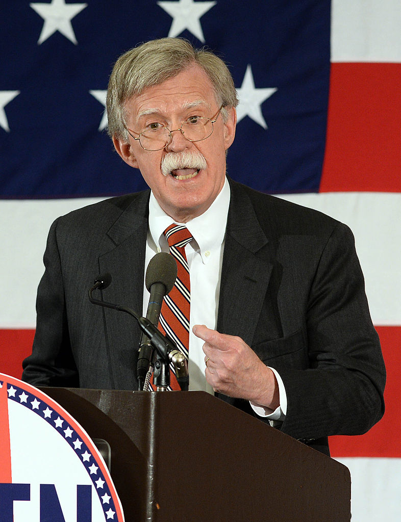 John Bolton speaks at the First in the Nation Republican Leadership Summit on April 17, 2015 (Getty Images)