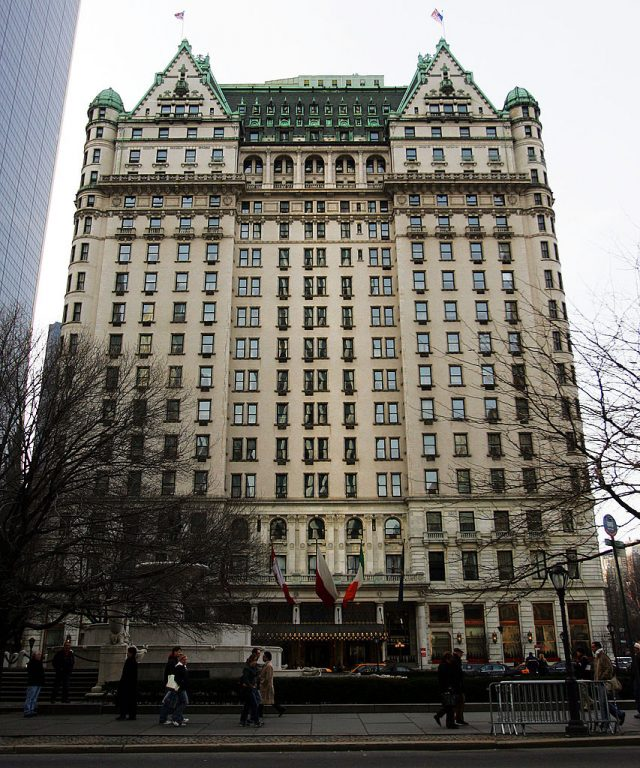 The Plaza Hotel. (Photo: Getty Images)
