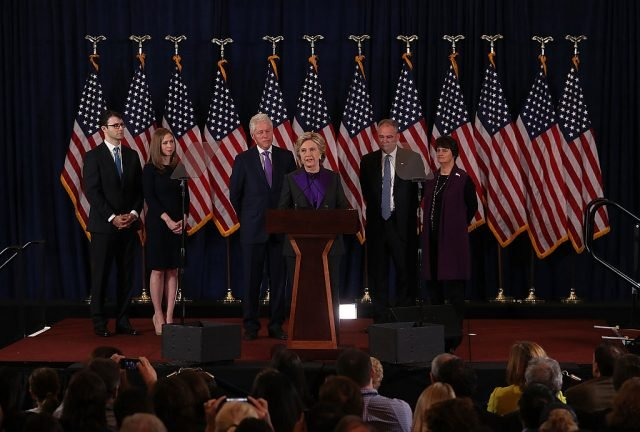 Hillary Clinton concedes the 2016 presidential election (Getty Images)