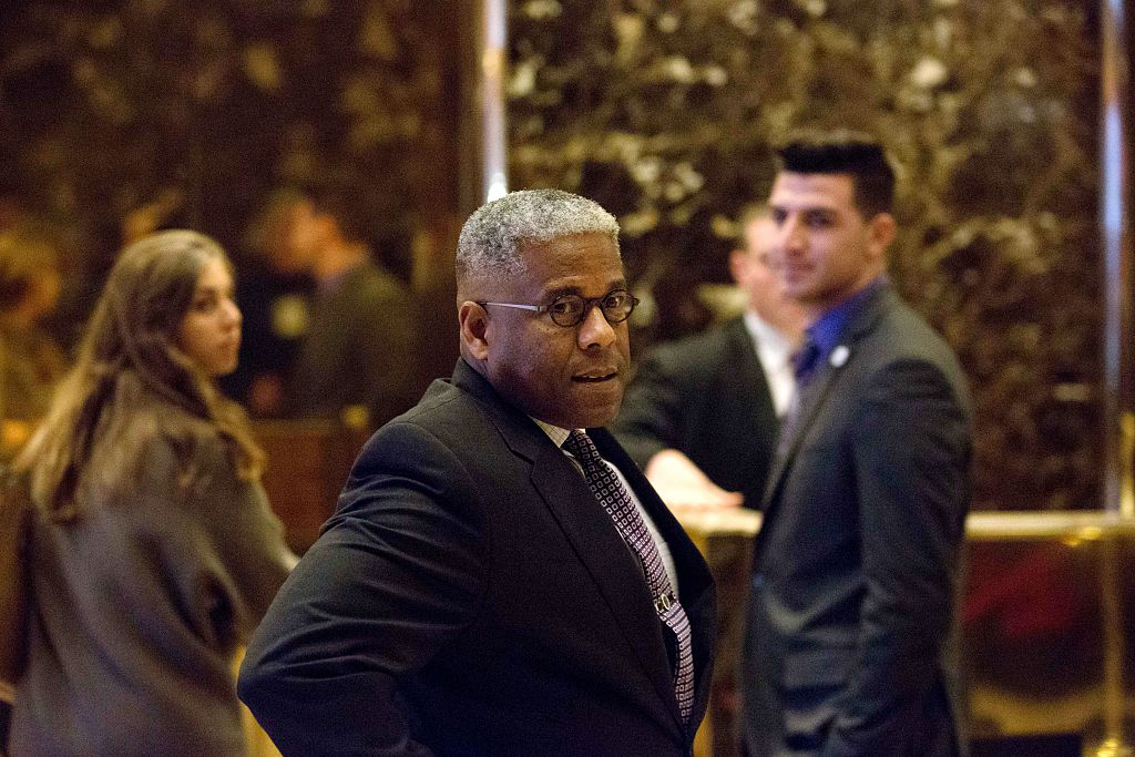 Allen West arrives to meet with President-elect Donald Trump at Trump Tower on December 5, 2016 (Getty Images)