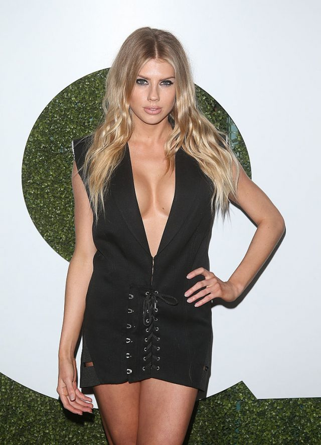 Model Charlotte McKinney attends the 2016 GQ Men of the Year Party at Chateau Marmont on December 8, 2016 in Los Angeles. (Photo by Jesse Grant/Getty Images)