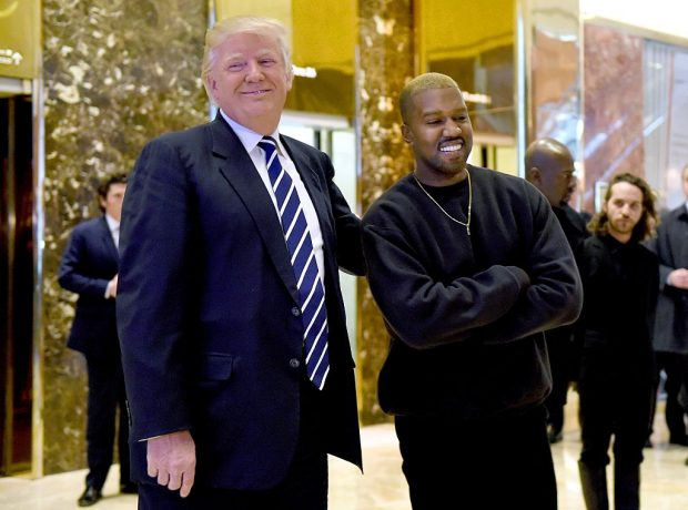 Singer Kanye West and President-elect Donald Trump speak with the press after their meetings at Trump Tower December 13, 2016 in New York. / AFP / TIMOTHY A. CLARY (Photo credit: TIMOTHY A. CLARY/AFP/Getty Images)