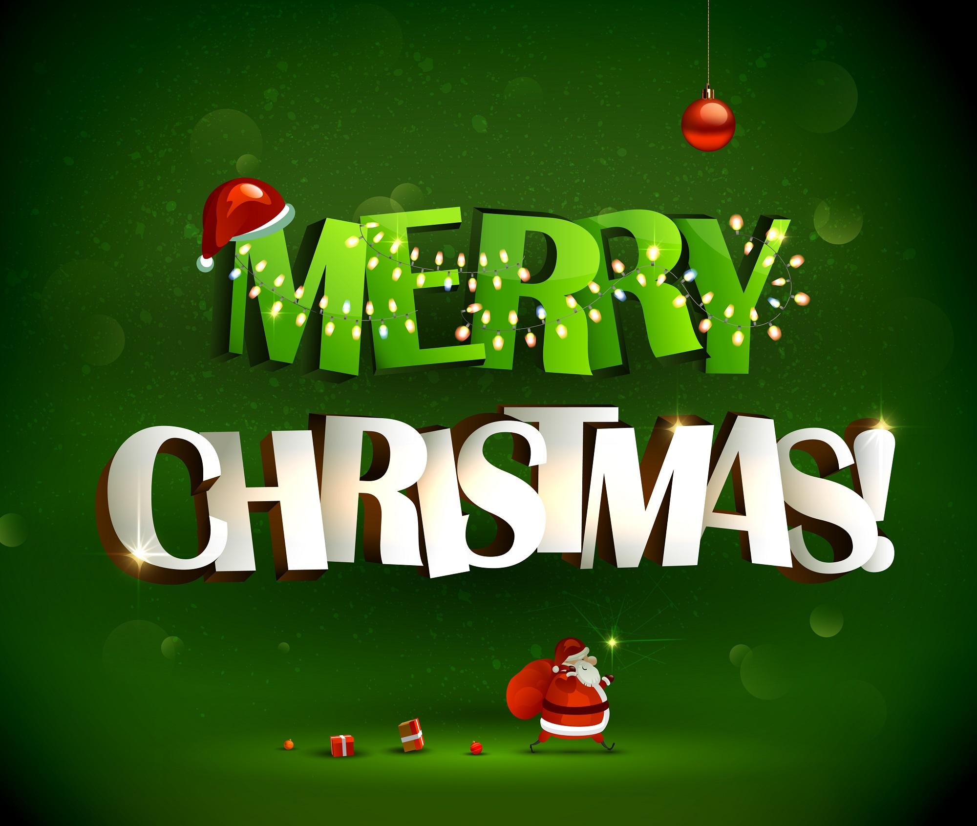 Merry Christmas Shutterstock/antart