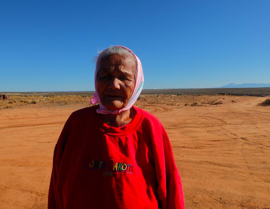 Betty Jones is a nonagenarian Navajo medicine woman.