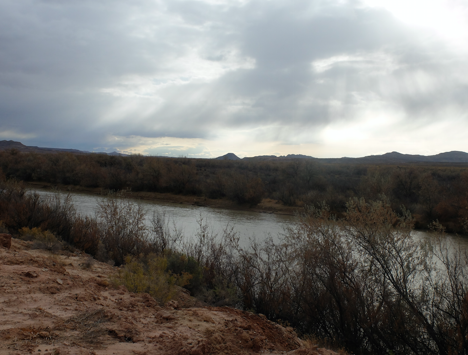 The San Juan river on a cold winter's day. (Joe Hammond/TheDCNF)