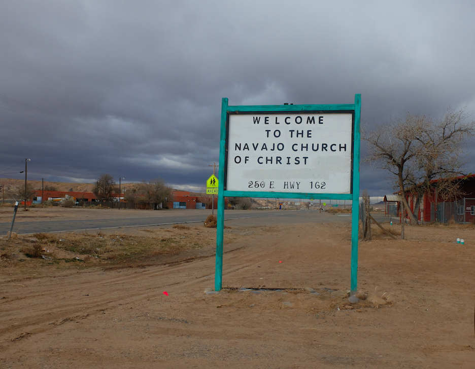 The small community of Aneth is the headquarters of the local Navajo chapter. (Joe Hammond/TheDCNF)