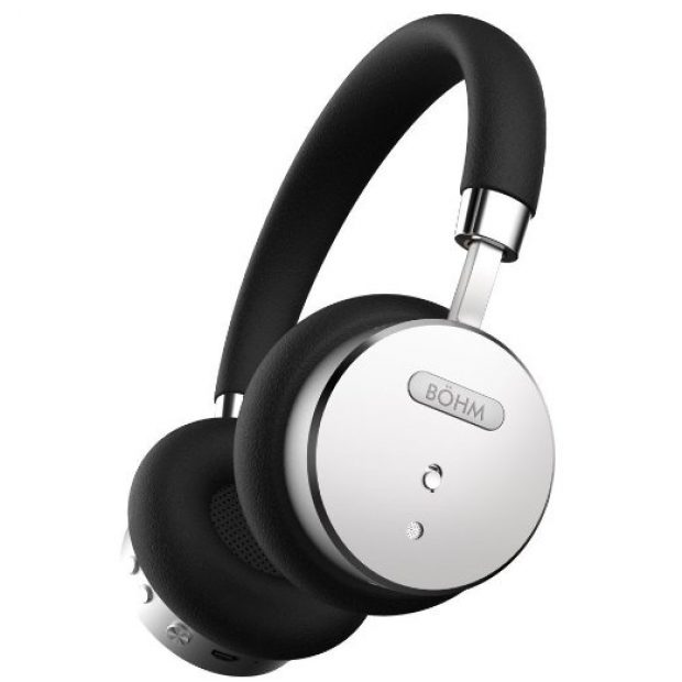 These headphones are available in black and silver - pictured - as well tan and gold (Photo via Amazon)