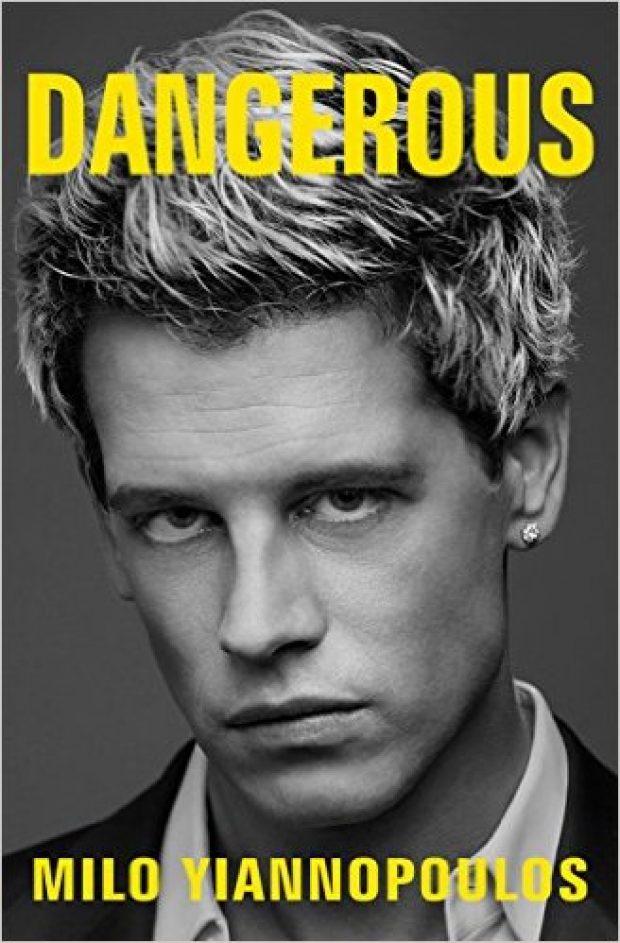 'Dangerous' hits the bookshelves on March 14 (Photo via Amazon)