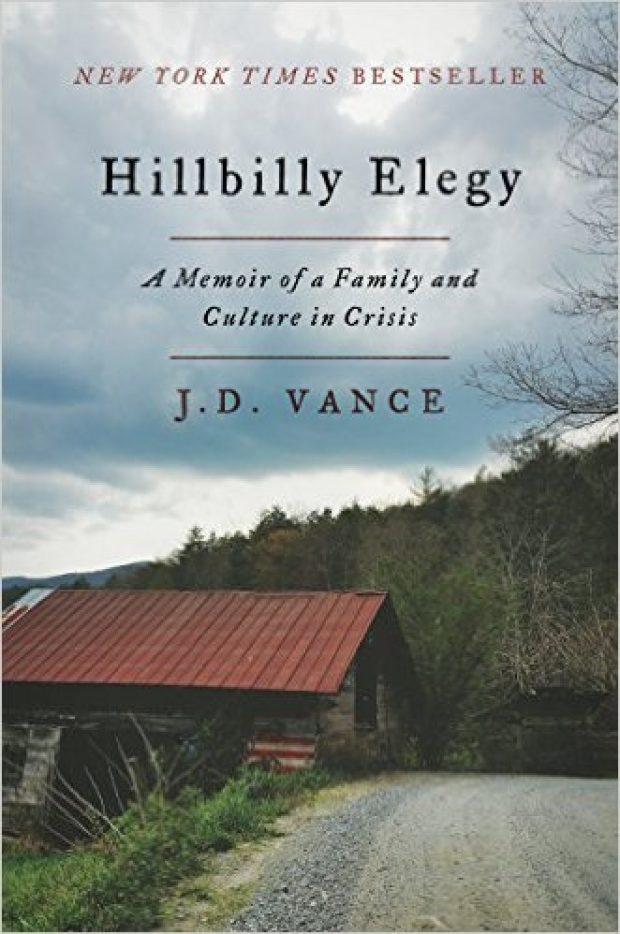 Normally $28, this memoir about growing up in the Rust Belt is on sale for 40 percent off for the holidays (Photo via Amazon)