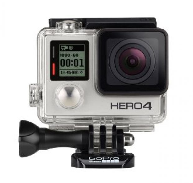 Danza also used the GoPro HERO4 Silver, which has an impressive 4.5-star rating (Photo via Amazon)