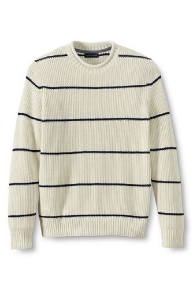Normally $74, this sweater is 60 percent off (Photo via Land's End)