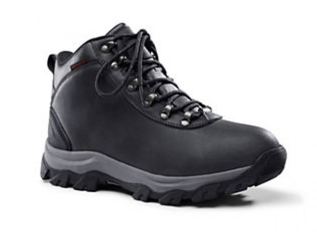 These hiking boots come in both black and espresso (Photo via Land's End)
