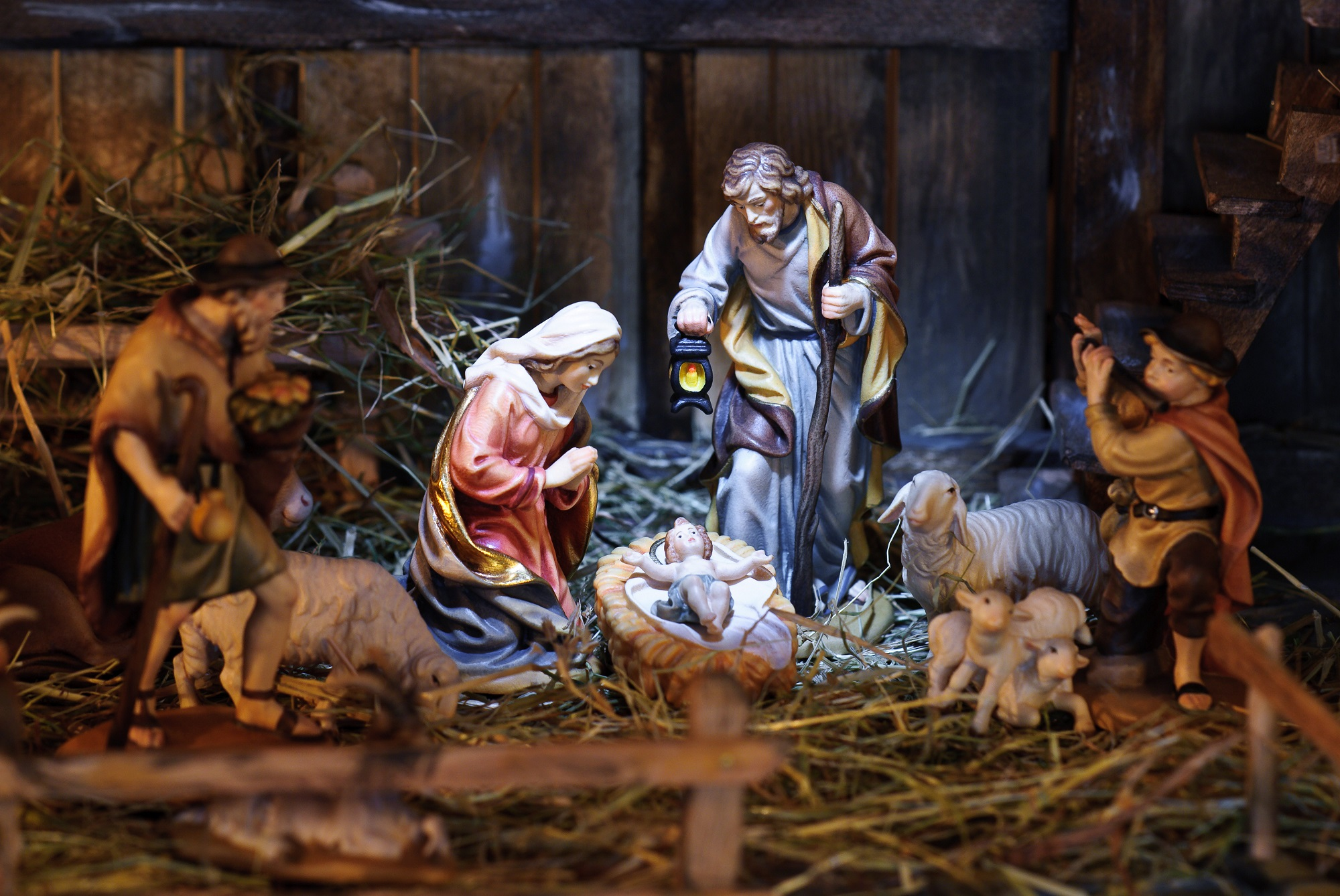 nativity scene Shutterstock/Alexander Hoffmann