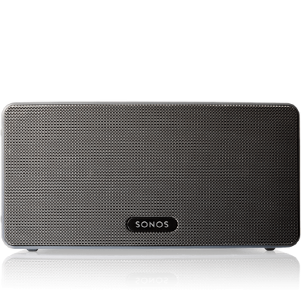 Normally $300, the PLAY:3 is $270 through the holidays (Photo via Sonos)
