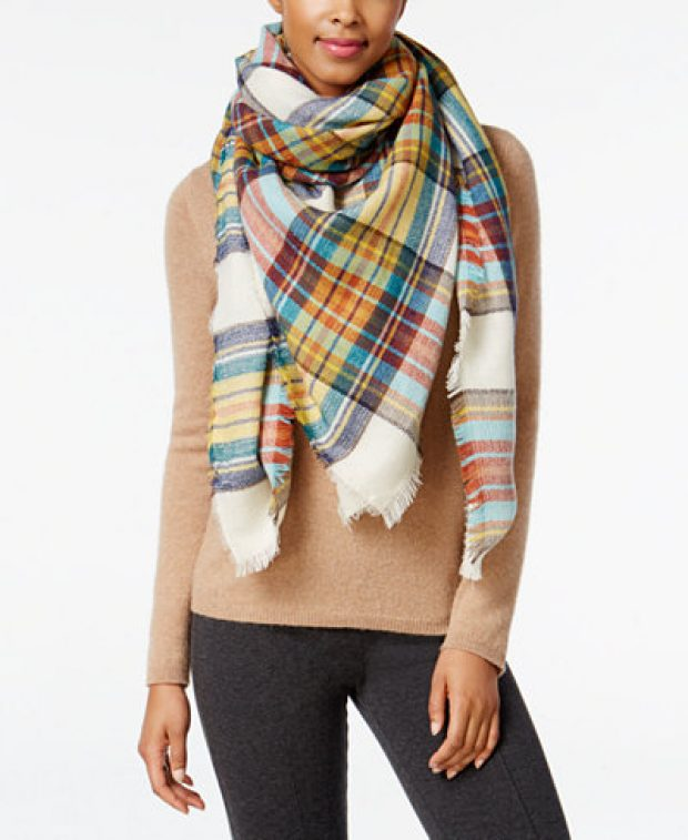 Normally $44, this scarf is 25 percent off (Photo via Macys)