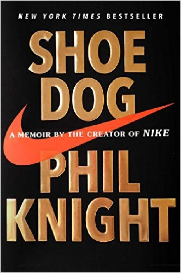 Normally $30, this memoir by the founder of Nike is 40 percent off for the holidays (Photo via Amazon)