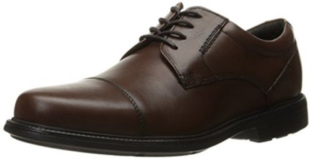 Normally $110, these Oxfords are 50 percent off. They are available in both tan and black (Photo via Amazon)