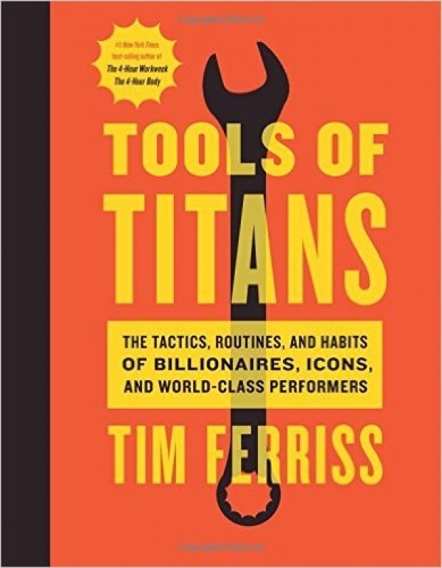 Normally $28, the 'Tools of Titans' is currently 39 percent off (Photo via Amazon)