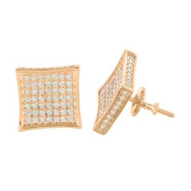 These earrings are cost under $30 (Photo via Walmart)