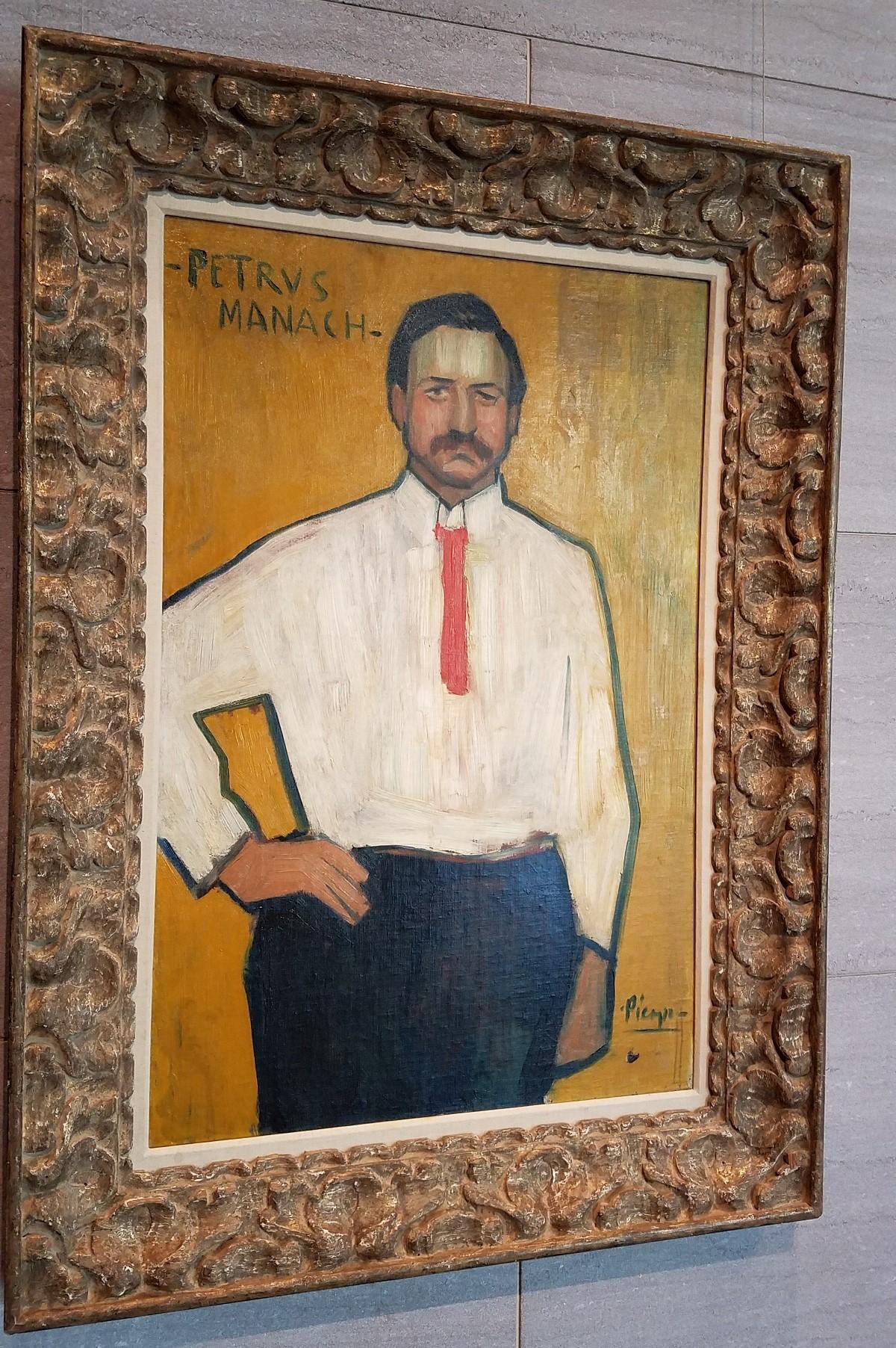 "Pablo Picasso's ""Petrus Manach."""