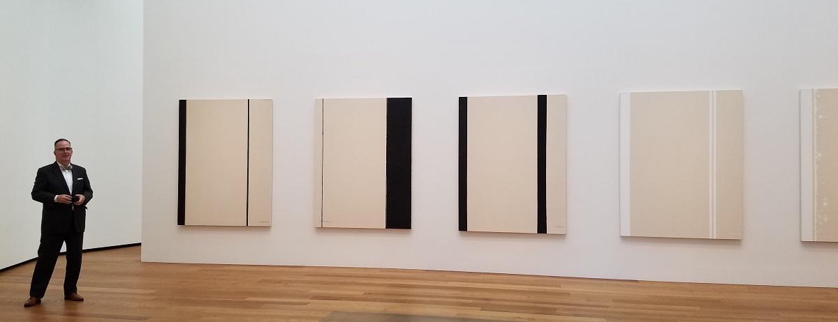 """Barnett Newman's fourteen """"Stations of the Cross."""""""