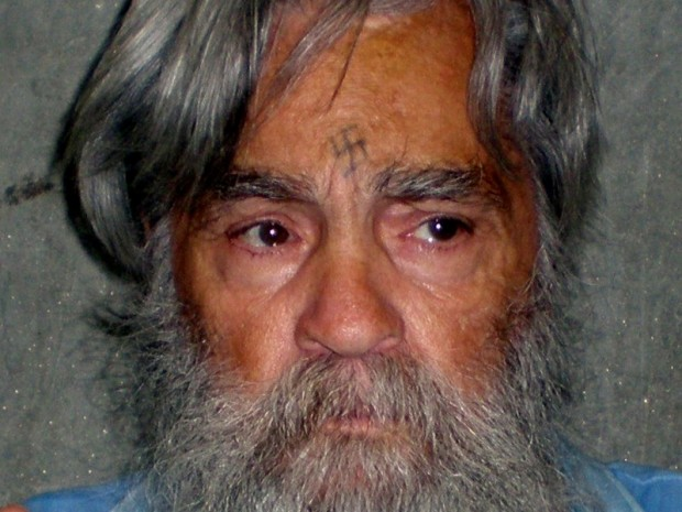 Convicted mass murderer Charles Manson is shown in this handout picture from the California Department of Corrections and Rehabilitation dated June 16, 2011 and released to Reuters April 8, 2012. REUTERS/CDCR/Handout via REUTERS/File Photo