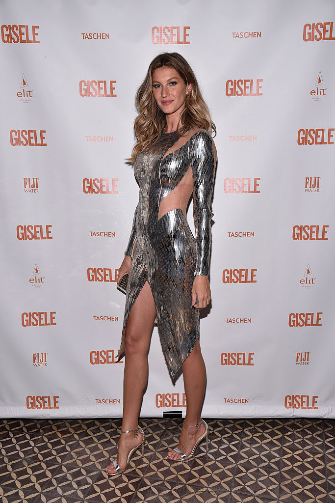 Gisele Bundchen attends her Spring Fling book launch on April 30, 2016 in New York City. (Photo by Bryan Bedder/Getty Images for Goat Communications)