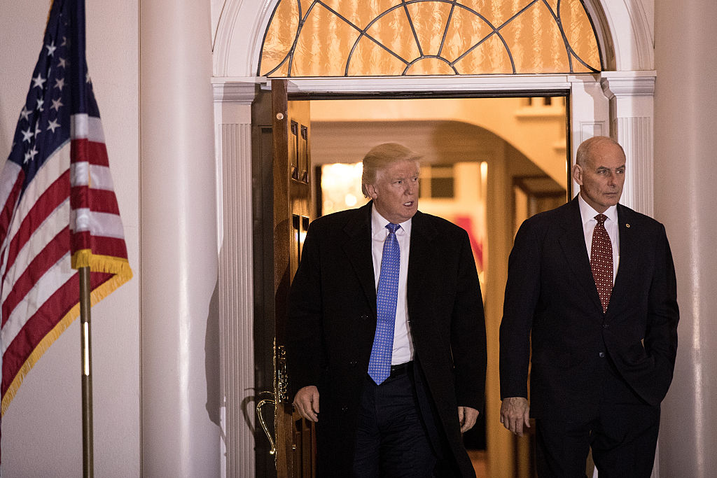 Donald Trump, John Kelly (Getty Images)