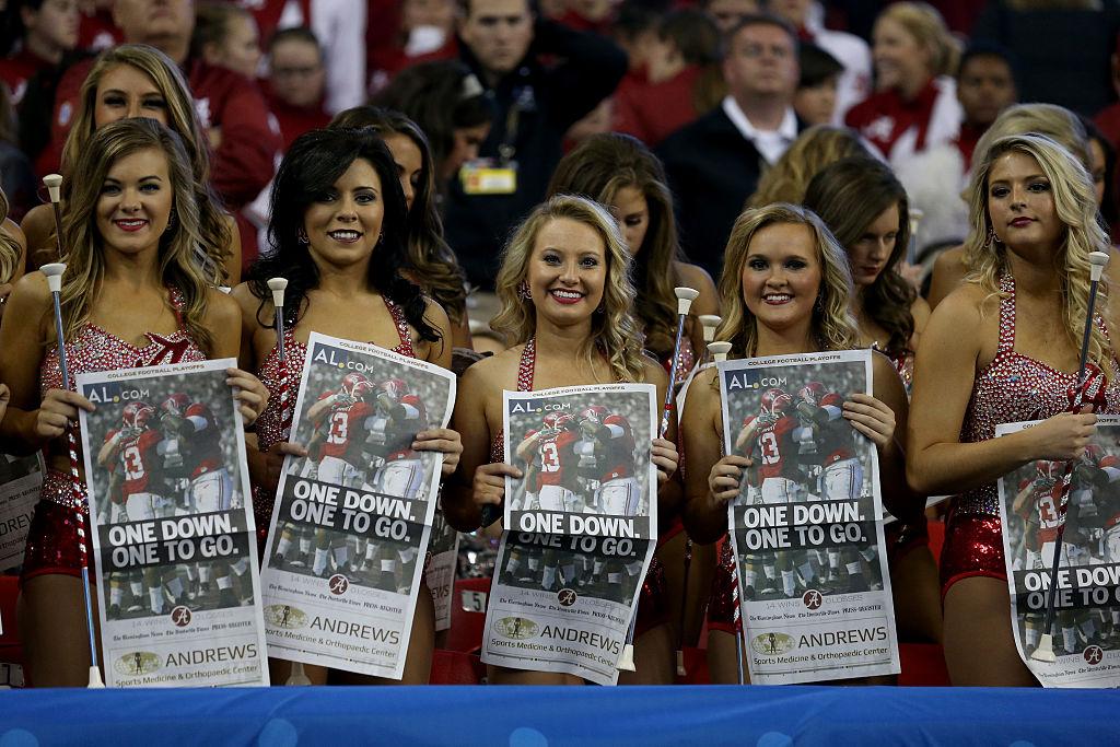 The Alabama Crimsonettes (Photo credit: Getty Images)